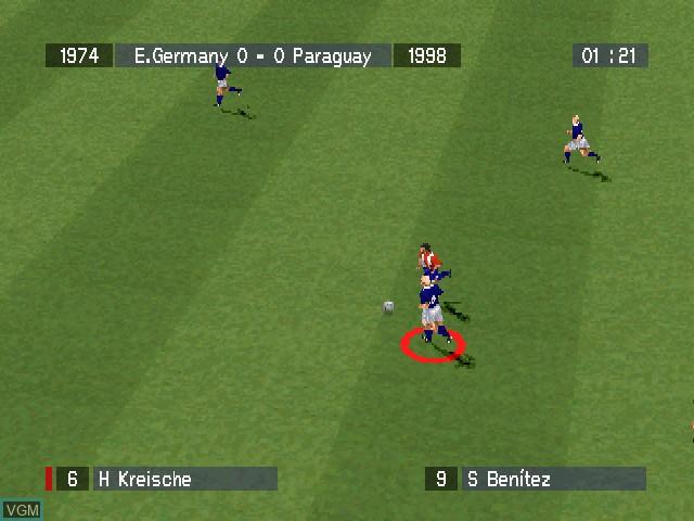 Image in-game du jeu Viva Soccer sur Sony Playstation