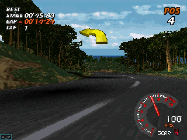 Image in-game du jeu V-Rally - 97 Championship Edition sur Sony Playstation