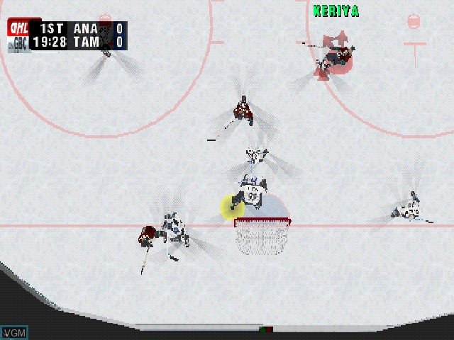 Image in-game du jeu Actua Ice Hockey 2 sur Sony Playstation
