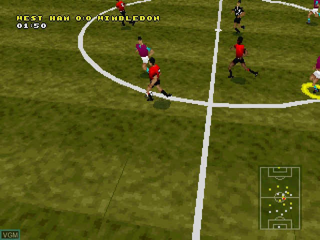 Image in-game du jeu Actua Soccer - Club Edition sur Sony Playstation