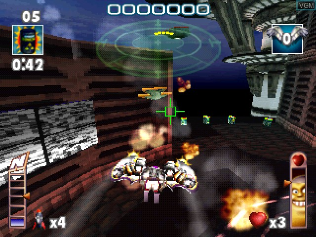 Image in-game du jeu Aironauts sur Sony Playstation