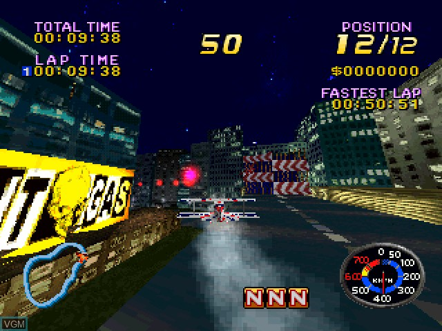 Image in-game du jeu AirRace Championship sur Sony Playstation