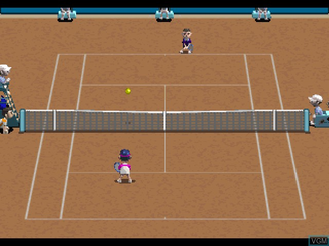 Image in-game du jeu All Star Tennis sur Sony Playstation