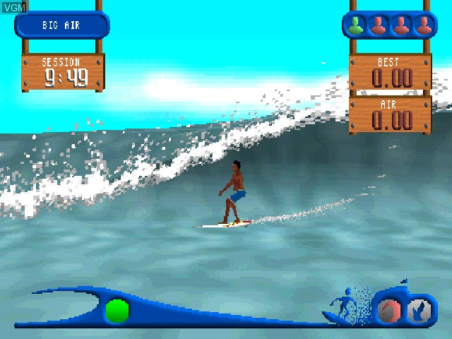 Image in-game du jeu All Star Watersports sur Sony Playstation