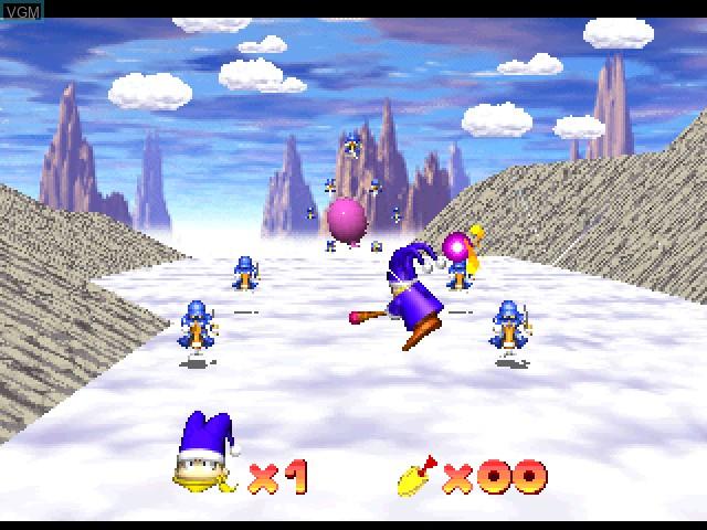 Image in-game du jeu Odo Odo Oddity sur Sony Playstation