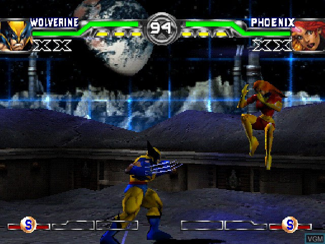 Image in-game du jeu X-Men - Mutant Academy 2 sur Sony Playstation