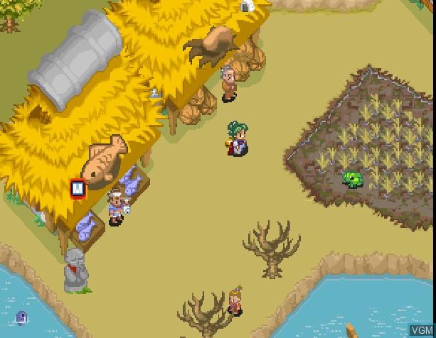 Image in-game du jeu Suzu Monogatari sur Sony Playstation