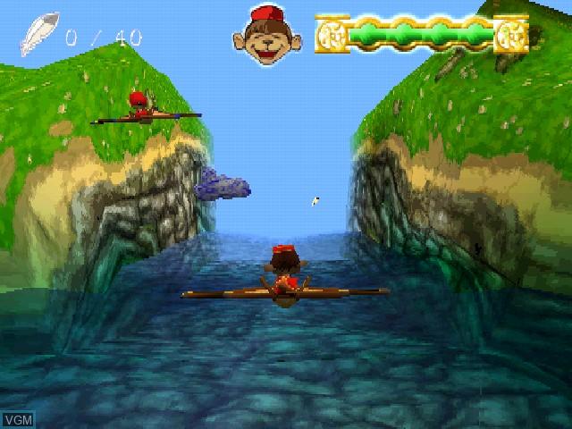 Image in-game du jeu Adiboo & Paziral's Secret sur Sony Playstation
