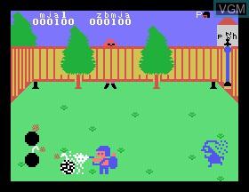 Image in-game du jeu Bombman sur Tomy Pyuuta / Tutor