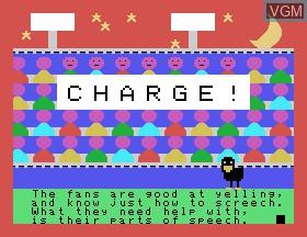Image in-game du jeu Car-azy-racer sur Tomy Pyuuta / Tutor