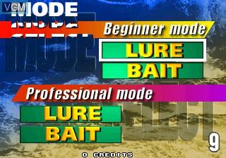 Image du menu du jeu Sea Bass Fishing sur ST-V