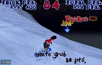 Image in-game du jeu Steep Slope Sliders sur ST-V