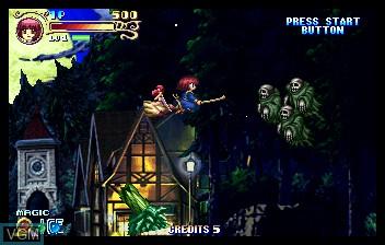 Image in-game du jeu Cotton 2 sur ST-V