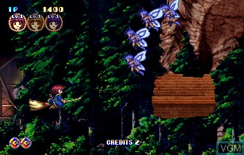Image in-game du jeu Cotton Boomerang sur ST-V