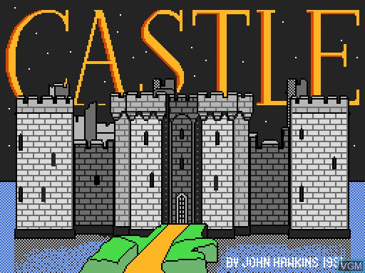 Image de l'ecran titre du jeu Castle sur MGT Sam Coupé