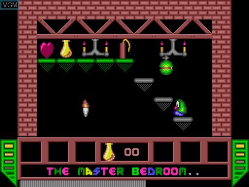 Image in-game du jeu Boing! sur MGT Sam Coupé