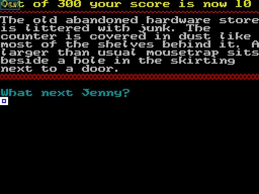 Image in-game du jeu Curse of the Serpent's Eye sur MGT Sam Coupé