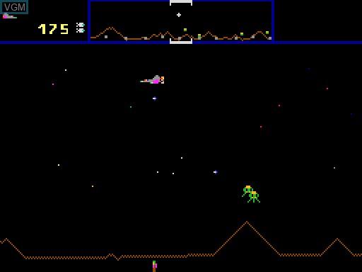Image in-game du jeu Defender sur MGT Sam Coupé