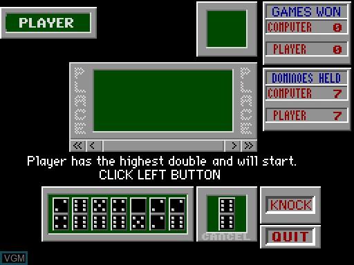 Image in-game du jeu Domino Box sur MGT Sam Coupé