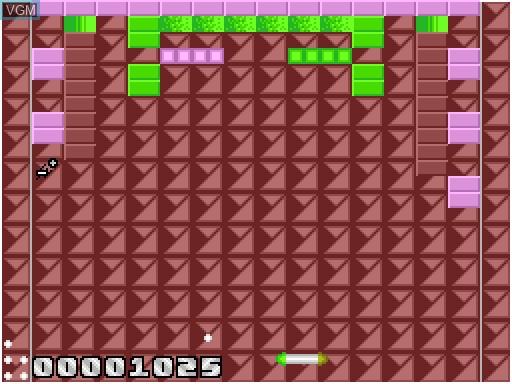 Image in-game du jeu Batz'n'Balls sur MGT Sam Coupé