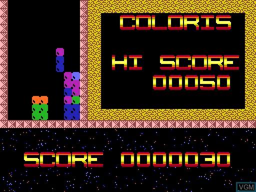 Image in-game du jeu Coloris sur MGT Sam Coupé