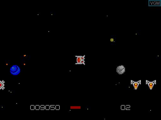 Image in-game du jeu Dyzonium sur MGT Sam Coupé