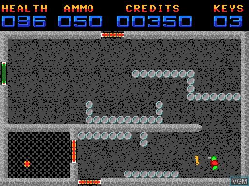 Image in-game du jeu Amalthea sur MGT Sam Coupé