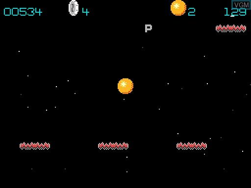 Image in-game du jeu Astroball sur MGT Sam Coupé