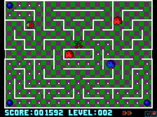 Image in-game du jeu Bulgulators, The sur MGT Sam Coupé