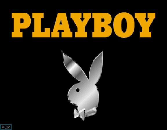 Image de l'ecran titre du jeu Playboy Karaoke Volume 1 sur Sega Saturn