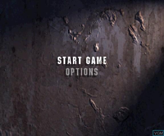 Image du menu du jeu 3D Mission Shooting Finalist sur Sega Saturn