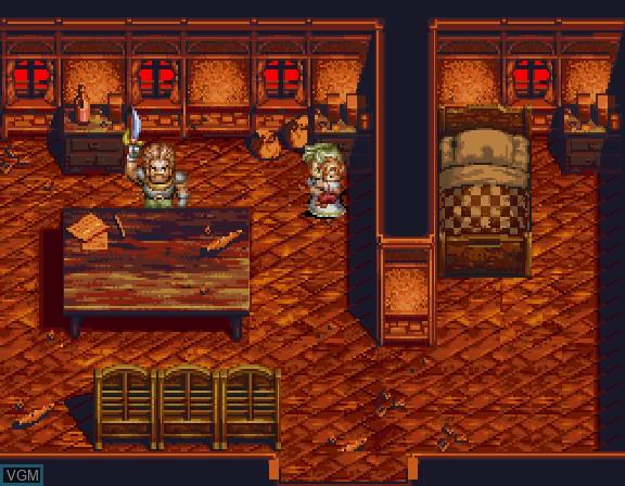 Image du menu du jeu Albert Odyssey Gaiden - Legend of Eldean sur Sega Saturn