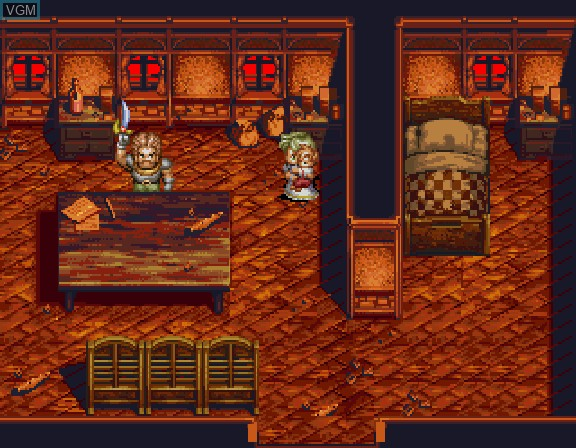 Image du menu du jeu Albert Odyssey - Legend of Eldean sur Sega Saturn