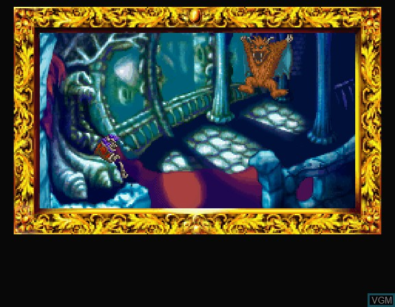 Image du menu du jeu Nazoma Incredible Toon sur Sega Saturn