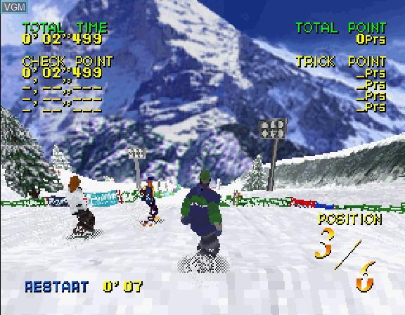 Zap Snow Boarding Trix '98