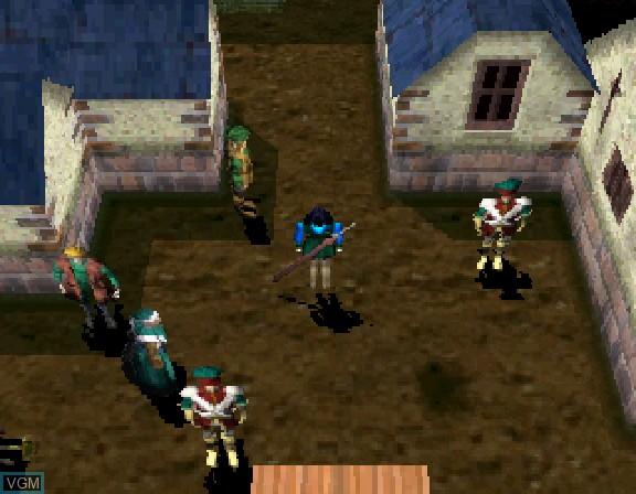 Image in-game du jeu Airs Adventure sur Sega Saturn