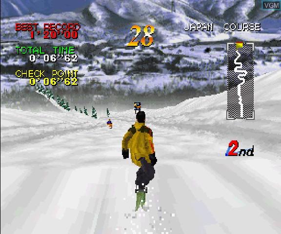 Zap Snowboarding Trix