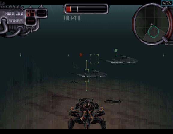 Image in-game du jeu Amok sur Sega Saturn