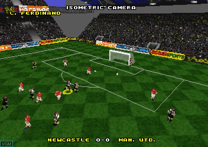 Image in-game du jeu Actua Soccer - Club Edition sur Sega Saturn