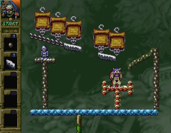 Image in-game du jeu Nazoma Incredible Toon sur Sega Saturn