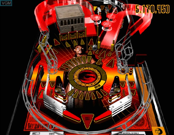 Image in-game du jeu Digital Pinball - Necronomicon sur Sega Saturn