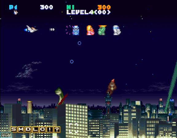 Image in-game du jeu Jikkyou Oshaberi Parodius - Forever With Me sur Sega Saturn