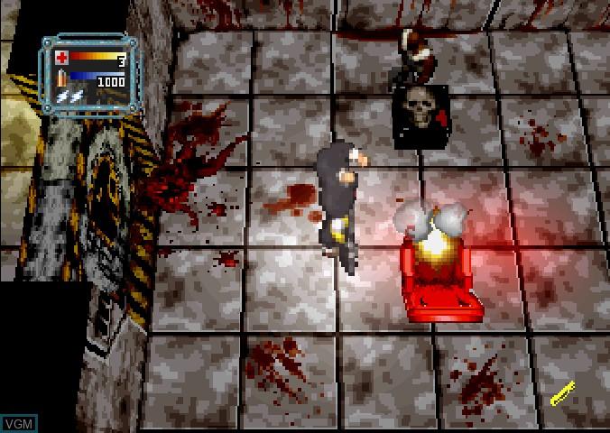 Image in-game du jeu Loaded sur Sega Saturn