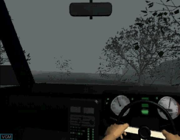 Image in-game du jeu Nanatsu no Hikan sur Sega Saturn