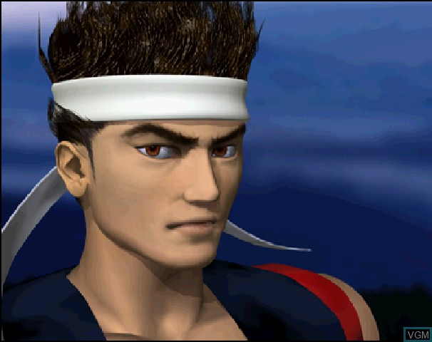 Virtua Fighter CG Portrait Series Vol. 3 - Akira Yuki