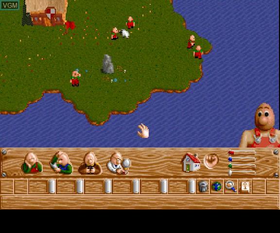 Image in-game du jeu Baldy Land sur Sega Saturn