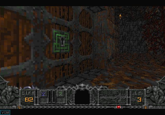 Image in-game du jeu Hexen - Beyond Heretic sur Sega Saturn