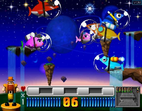 Image in-game du jeu 2do Aru Koto wa Sando R sur Sega Saturn