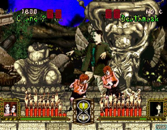 Image in-game du jeu Battle Monsters sur Sega Saturn