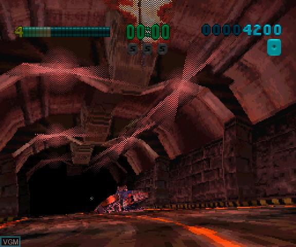 Image in-game du jeu 3D Mission Shooting Finalist sur Sega Saturn